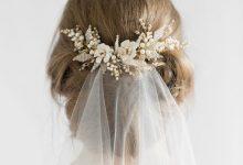 10 jolies manières de glisser un bijou de tête dans sa coiffure de mariée