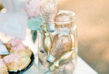 3 idées pour recycler les ampoules en décoration de mariage