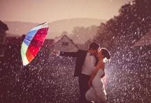 10 idées ingénieuses pour rendre un mariage splendide sous la pluie