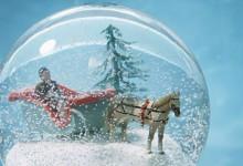 Comment fabriquer des boules à neige pour une décoration de mariage en plein hiver ?
