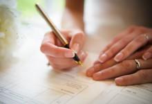 6 démarches administratives à faire après le mariage