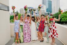 15 idées de tenues printanières pour les demoiselles d'honneur