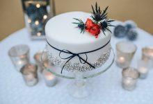 10 gâteaux de mariage complètement enneigés pour une réception hivernale gourmande