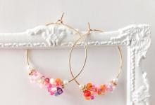 10 boucles d'oreilles créoles pas comme les autres pour un look de mariée chic et moderne