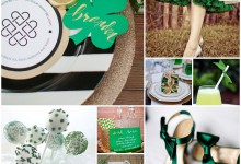 Entre jolis trèfles et couleurs verdoyantes, place au mariage sur le thème de la Saint Patrick !