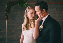 Comment décorer un mariage industriel et contemporain au cœur de l'hiver ?