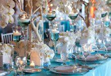 Quand le turquoise et l'argenté s'invitent dans votre décoration de mariage : le résultat est bluffant