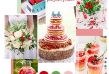 Un mariage sucré, parfumé à la fraise, ça donne quoi ?