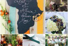 Cap sur l'Afrique pour mon thème de mariage