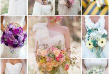 Le printemps s'invite dans mon bouquet de mariage