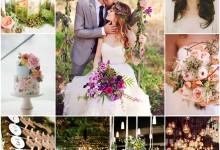 Mariage chic et bucolique