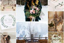 Mariage bohème en hiver : on s'inspire des trésors de la nature pour le mettre en scène