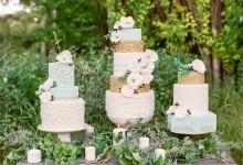 10 ruffle cakes très stylés pour les mariés en quête d'un gâteau tendance et original