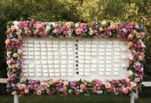 12 plans de table de mariage ingénieux pour placer vos invités avec audace