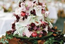 10 wedding cakes qui nous rappellent un doux parfum d'automne