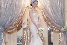 Thème de mariage : ma cérémonie d'or et d'argent