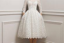 10 robes de mariée courtes tendance 2019 qui nous font succomber
