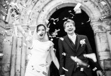 Le mariage féerique et aérien de Aude et Antoine au cœur d'un magnifique château de princesse