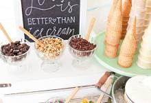 DIY : comment fabriquer un bar à glaces pour mon mariage ?