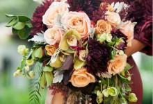 10 bouquets de mariée pensés avec des fleurs d'automne
