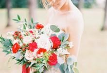 10 bouquets de mariée aux couleurs de la Saint-Valentin