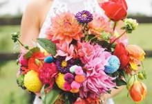 10 bouquets de mariée ensoleillés qui sentent bon l'été