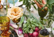 10 idées tendance 2020 pour glisser des légumes du printemps dans ma décoration de mariage