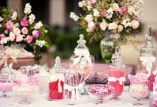 10 candy bars parfaits pour un mariage champêtre et gourmand