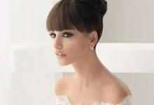 10 coiffures pour une mariée qui veut conserver sa frange