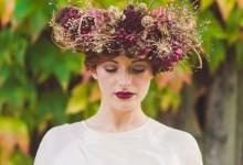 10 couronnes de fleurs à porter absolument pour un mariage d'automne