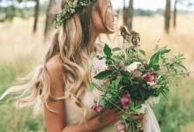 10 coiffures dans le vent pour une mariée coiffée au naturel