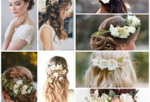 Osez les fleurs dans votre coiffure de mariée !