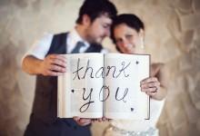 12 jolies manières de dire merci à ses invités