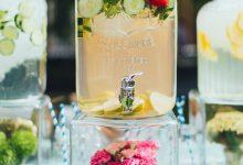 10 idées pour confectionner un bar à eau pour rafraîchir les invités du mariage