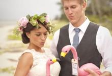 Mon fabuleux mariage d'été autour du flamant rose
