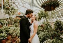 Mon mariage idyllique au coeur d'une véritable serre botanique