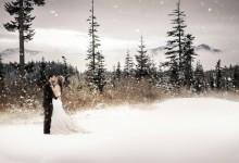 11 jolies raisons d'organiser un mariage esprit «flocon de neige»