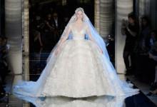 12 époustouflantes robes de mariée aperçues aux défilés Haute Couture printemps-été 2016