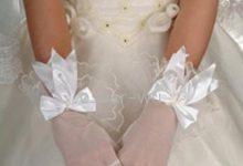 De jolis gants pour accessoiriser ma robe de mariée
