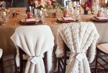 10 décorations de chaises de mariage à tomber