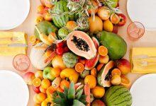 10 façons tendance d'utiliser des fruits dans la décoration de mariage d'été