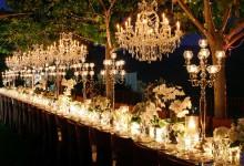 5 manières de donner du relief à vos décorations de table de mariage