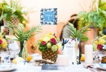 14 idées exotiques pour ensoleiller vos tables de mariage