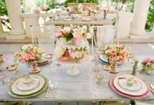 12 jolies inspirations pour décorer un mariage shabby chic