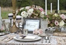10 décorations de mariage chinées pour une réception romantique et vintage