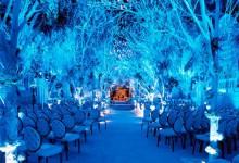 11 décorations pour transformer un mariage hivernal en conte de fées