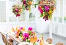 10 idées champêtres pour glisser des objets en osier dans votre décoration de mariage