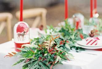 10 idées magiques pour décorer un mariage « esprit de Noël »