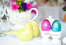 12 idées enfantines pour glisser des œufs dans sa décoration de mariage