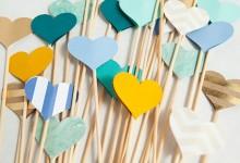 DIY : des bâtons de cœur pour illuminer votre allée de mariage